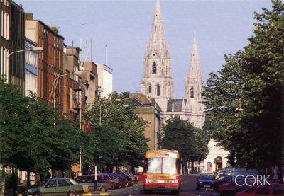 La ville de Cork et sa cathédrale