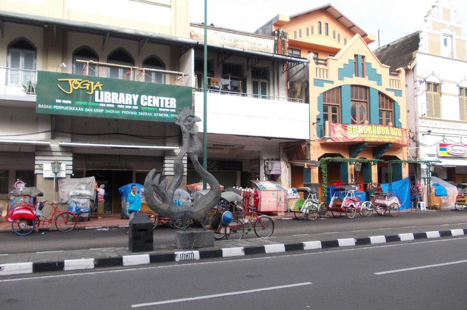Dans une rue de Jogja