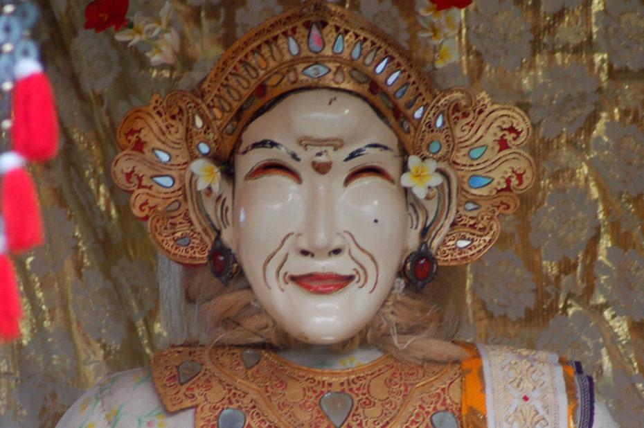 Une divinité hindouiste