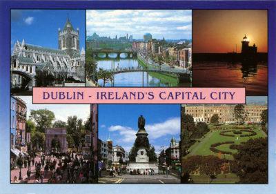 Dublin, capitale de la République d'Irlande