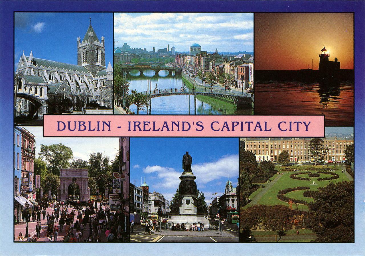 Bien connu Cartes postales d'Irlande (Dublin, Bray, Cobh, Cork, Westport) GP19