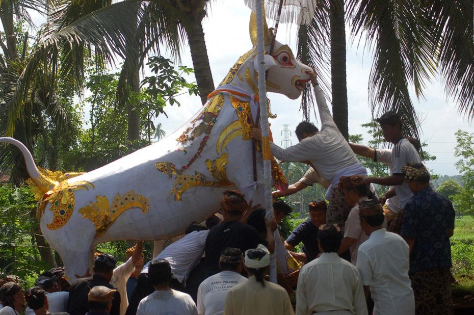 Folklore et couleurs lors de la cérémonie