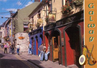 Galway, ville de la province de Connacht