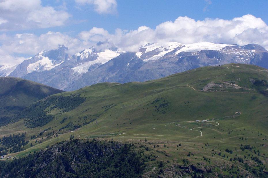 Vue sur le glacier des Deux-Alpes