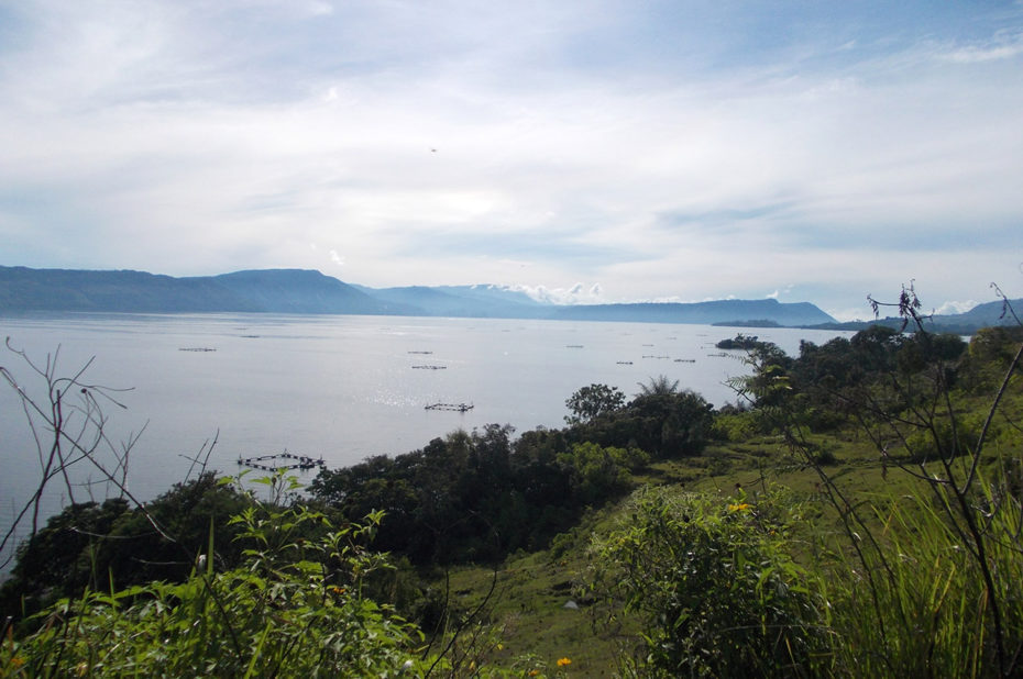 Le Danau Sidihoni (lac) à Samosir