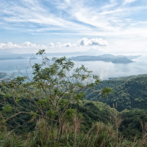 Le lac Taal et son volcan à Tagaytay