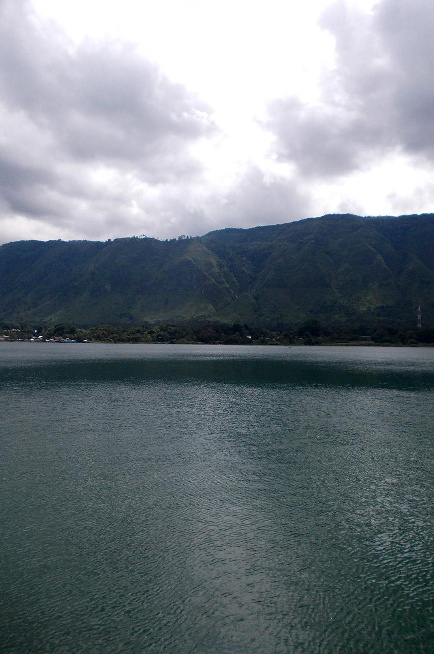 Le danau Toba (lac Toba) à Sumatra