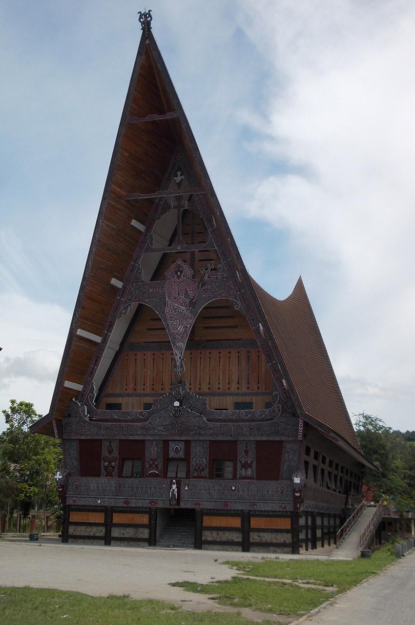 Une maison Batak