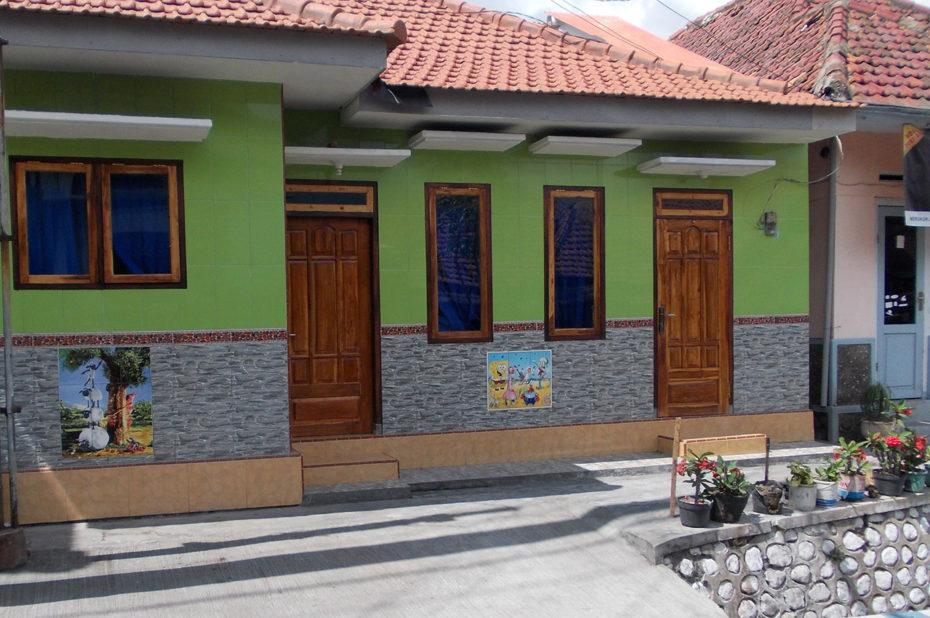 Une maison aux couleurs chatoyantes