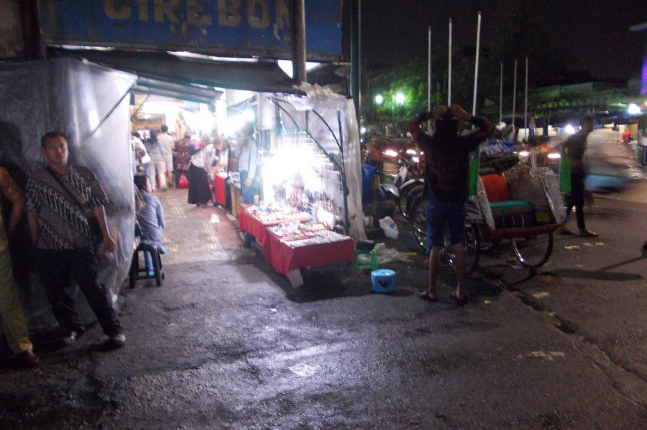 Un marché de nuit