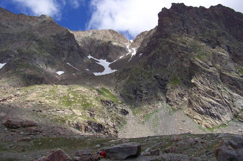 Montagnes environnant le lac des Quirlies