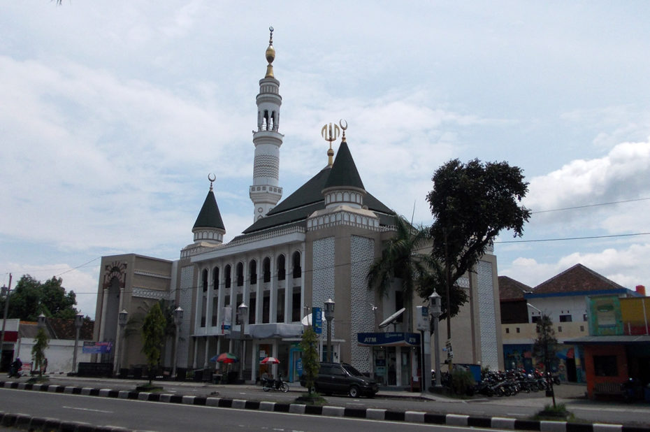 Mosquée à Yogyakarta