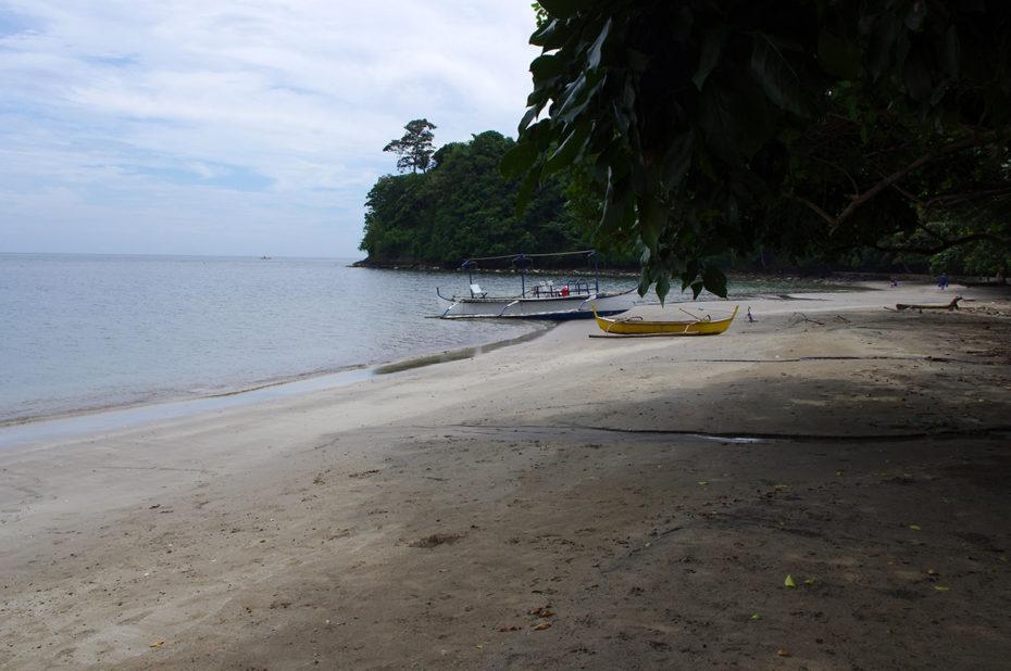 Plage déserte aux Philippines