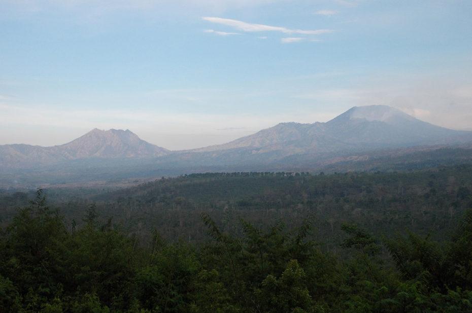 Le plateau d'Ijen sur l'île de Java