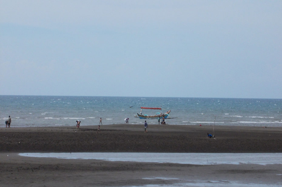 Non loin des volcans, les plages de sable noir