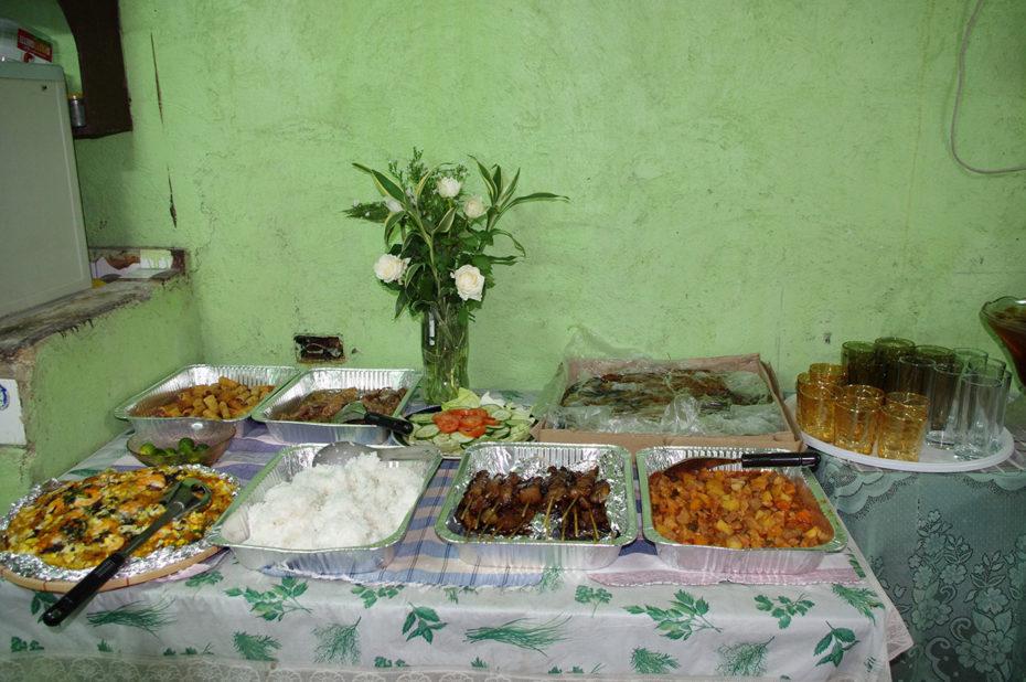 Un repas de fête aux Philippines
