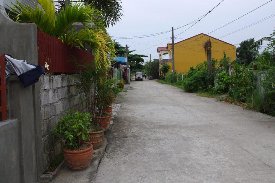 Dans une rue de Manille, aux Philippines