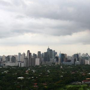 Manila Skyline, la richesse contraste l'extrême pauvreté