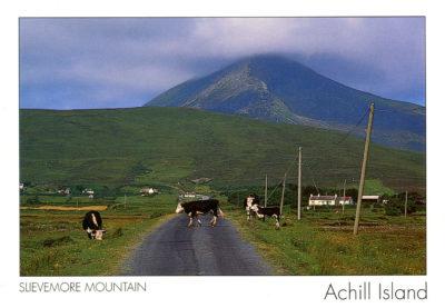 Le mont Slievemore sur Achill Island