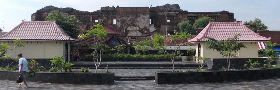 Temple des eaux à Yogyakarta