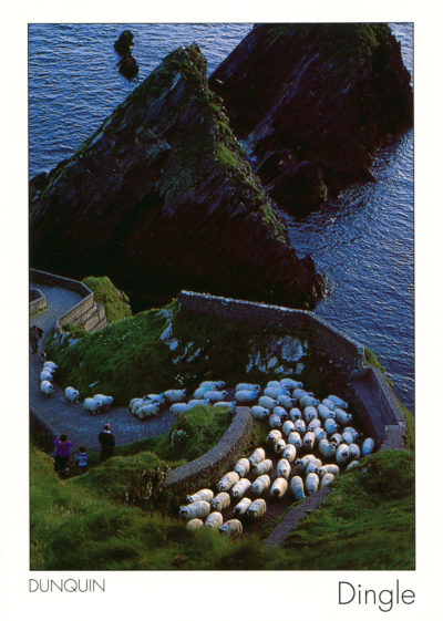 Près du village de Dunquin, péninsule de Dingle