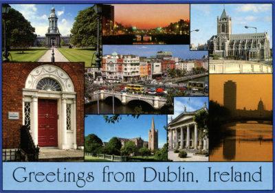 Divers endroits de Dublin, la capitale