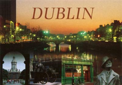 Vues de Dublin, de nuit