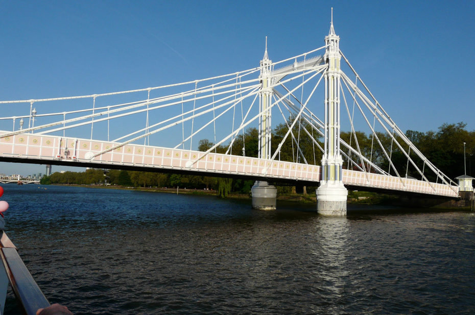 Albert bridge, un pont sur la Tamise
