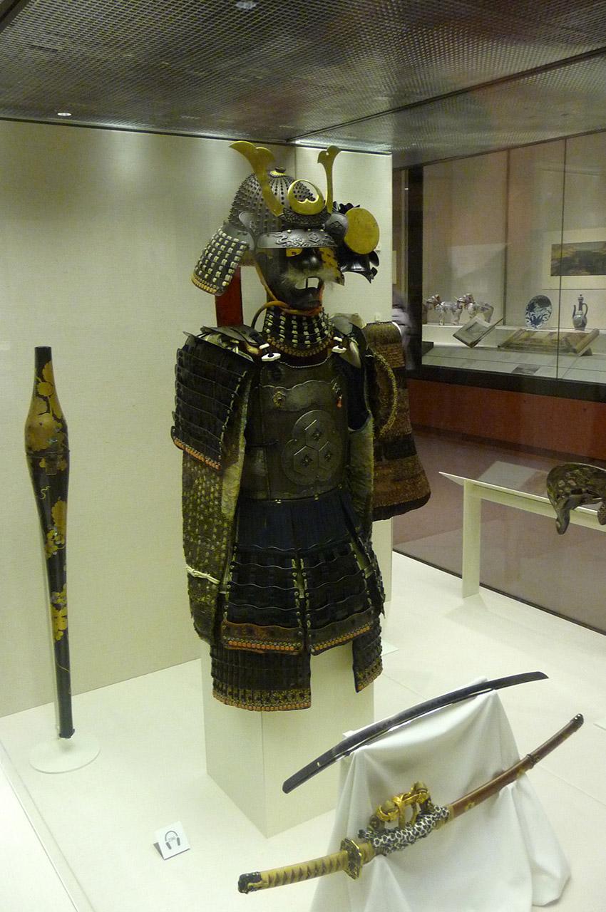 Armure d'un samouraï japonais