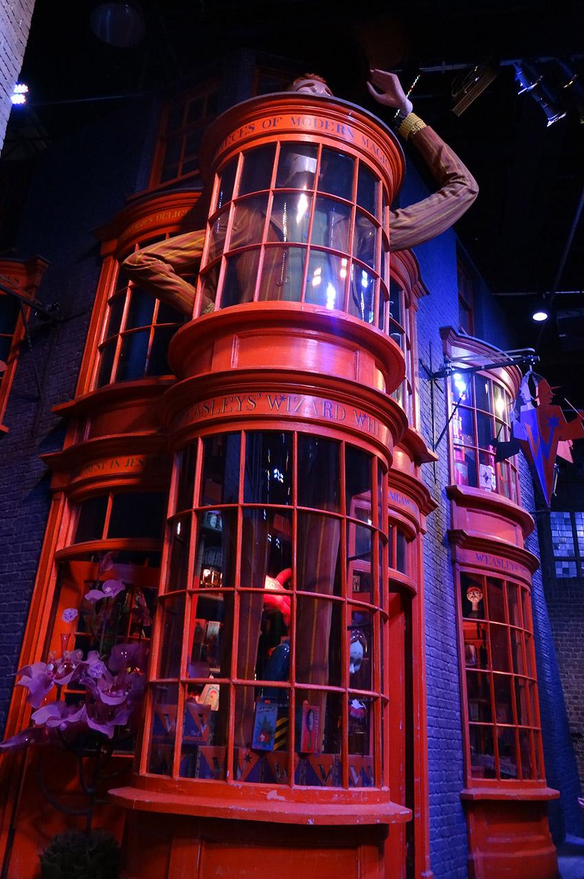 La boutique de farces et attrapes des Frères Weasley