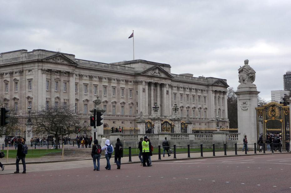 Buckingham Palace, la résidence de la reine d'Angleterre