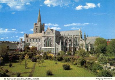 St Patrick, la cathédrale de Dublin