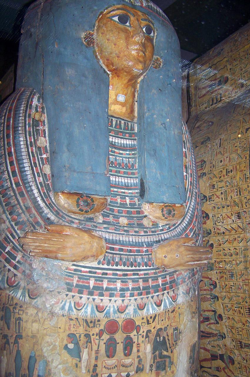 Cercueil d'une femme non identifiée, 21e dynastie