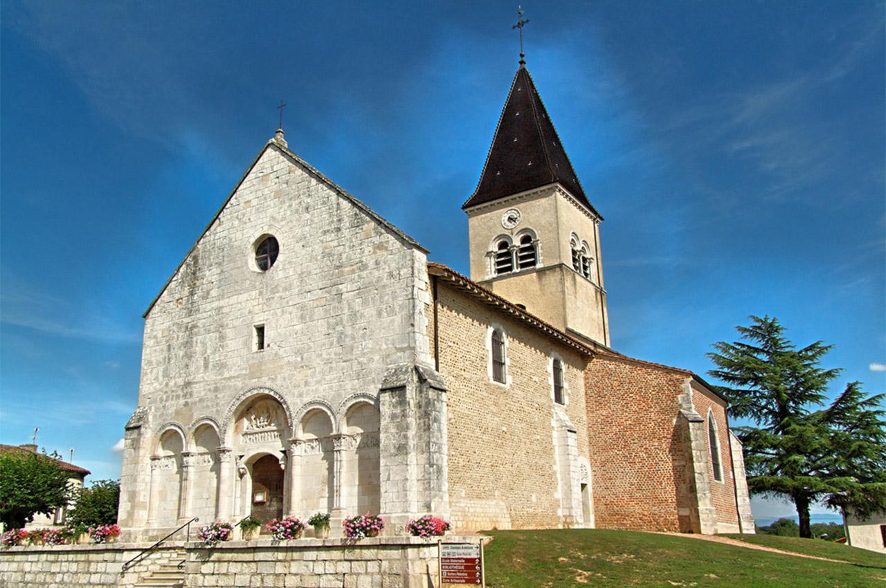 Église de Saint-Paul de Varax dans l'Ain