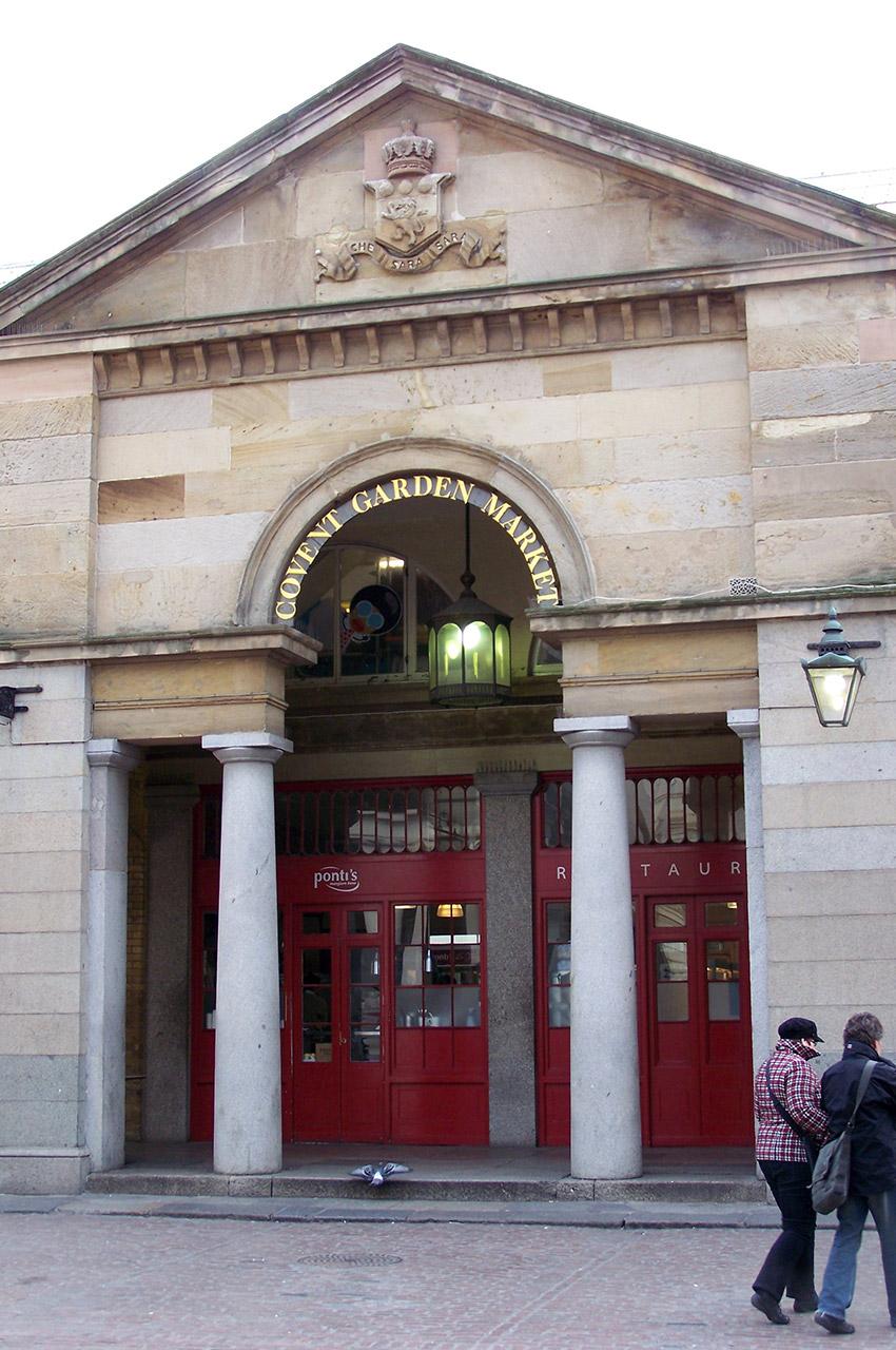 Entrée de la halle de Covent Garden