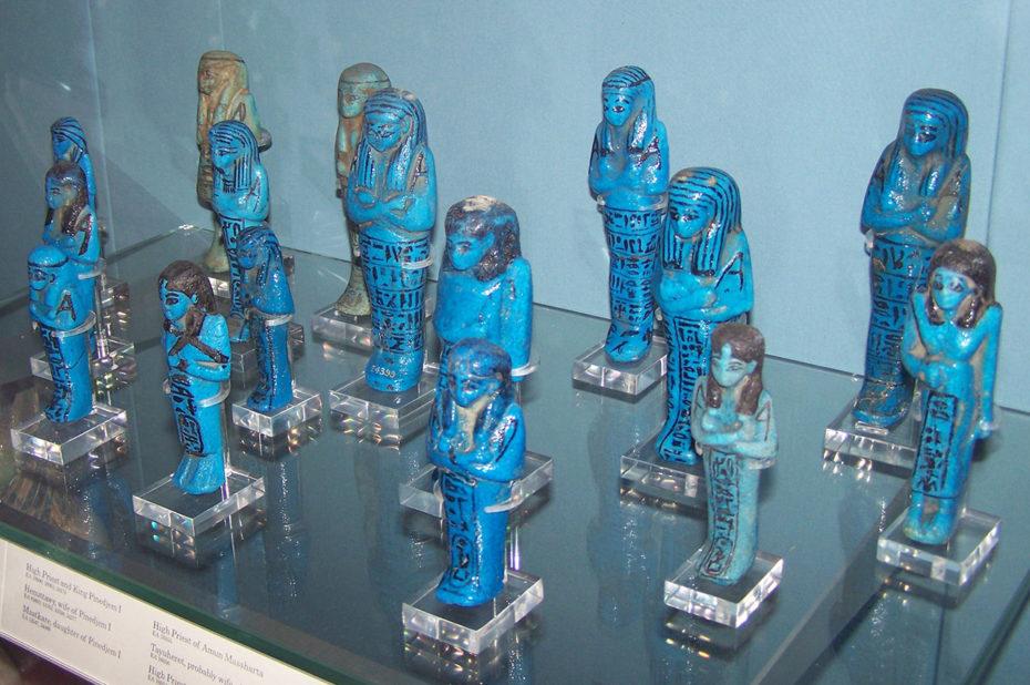Faïence bleue des grands prêtres d'Amon