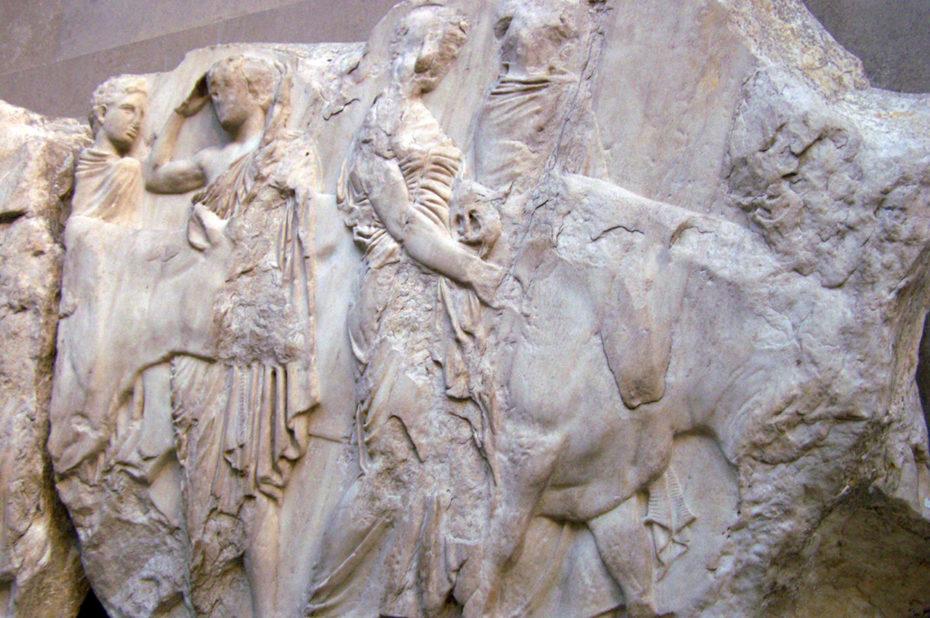 Fragment de la frise du Parthénon
