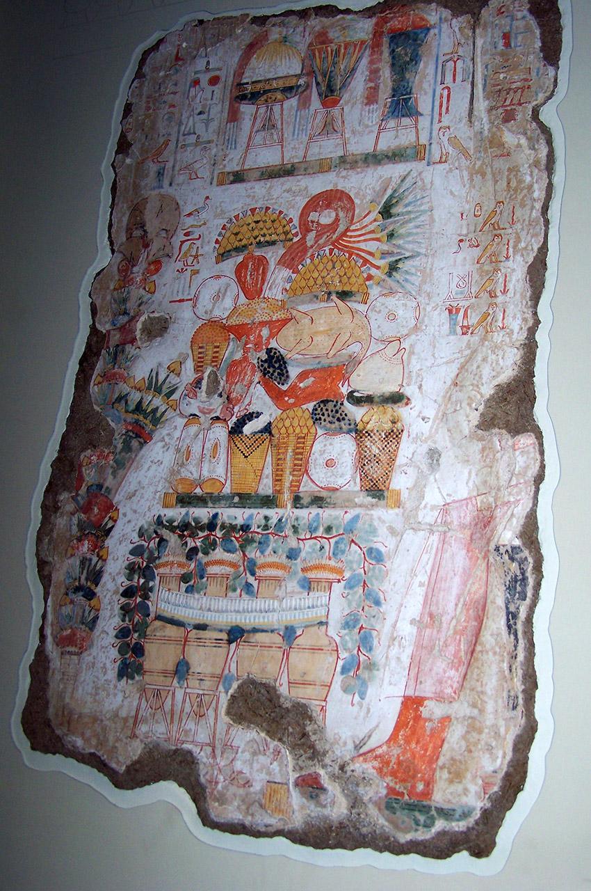 Fresque La Tombe de Nebamon