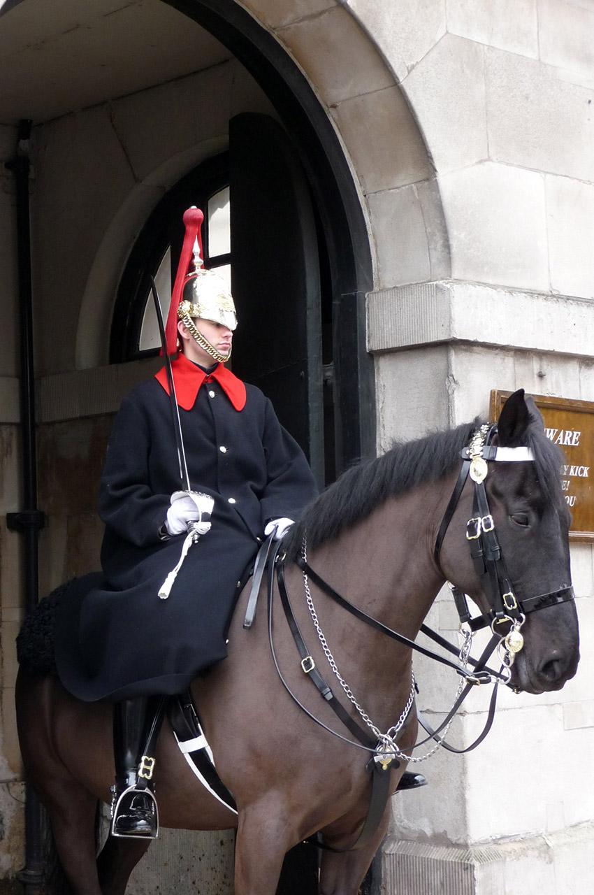 Garde à cheval à Londres