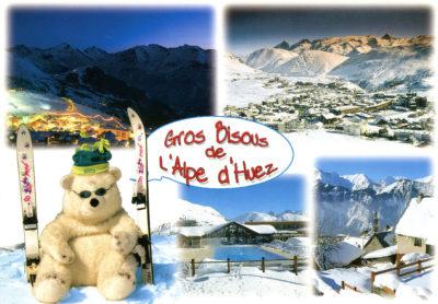 Gros bisous de l'Alpe d'Huez