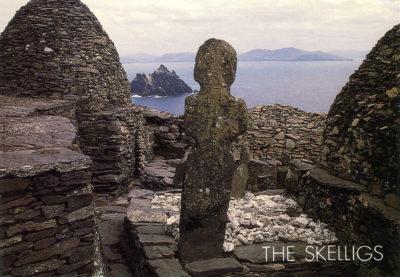 Les îles Skellig au large de la péninsule d'Iveragh
