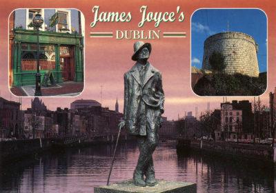 James Joyce, romancier et poète irlandais