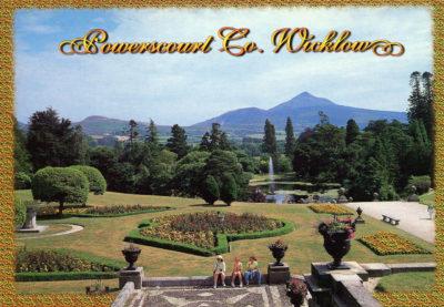Les magnifiques jardins de Powerscourt Estate