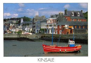Kinsale, petit port sur l'estuaire du Bandon