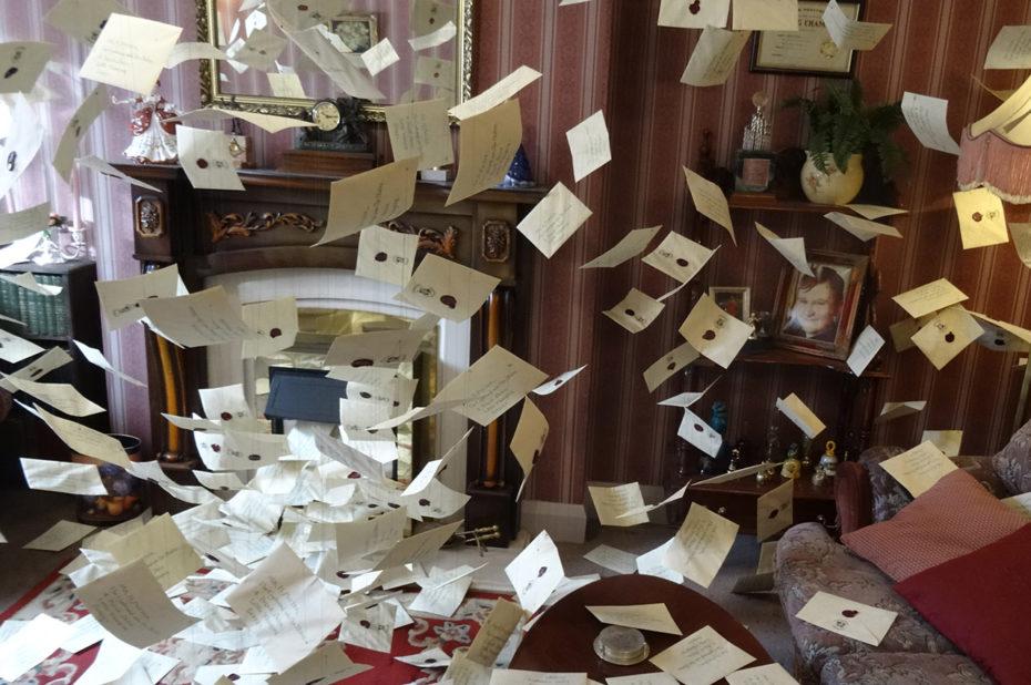 Les lettres pour Harry au 4, Privet Drive