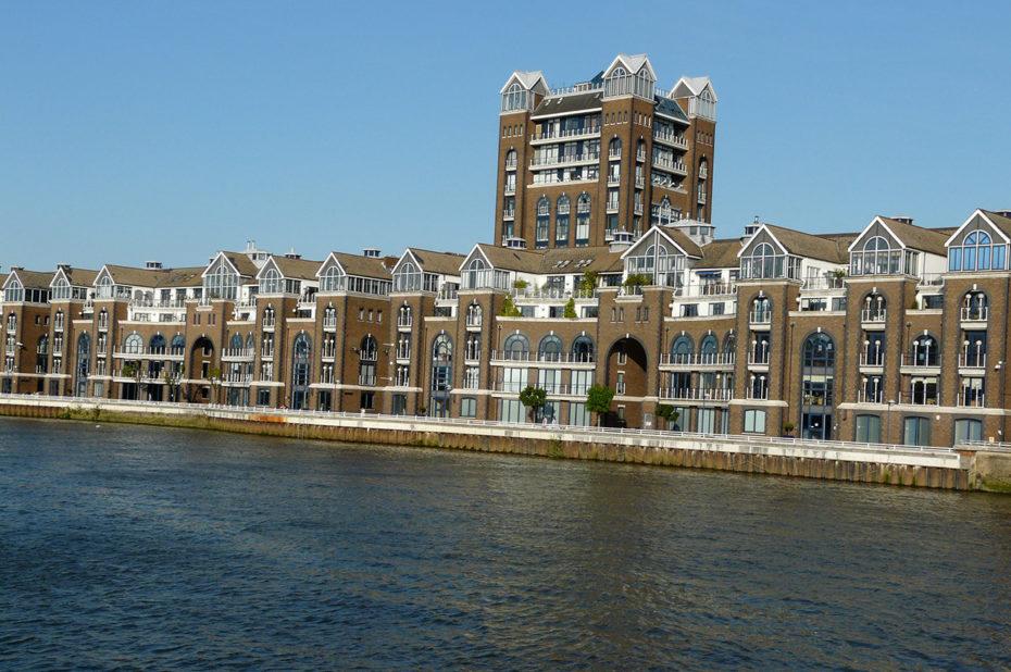 Des maisons typiquement londoniennes