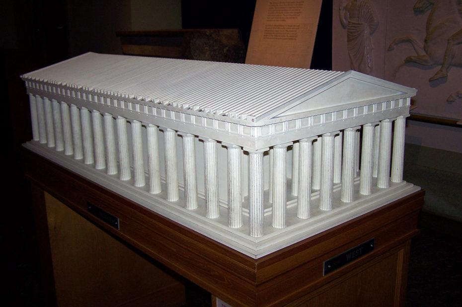 Maquette de l'Acropole d'Athènes