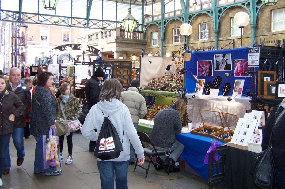 Marché des artistes à Covent Garden