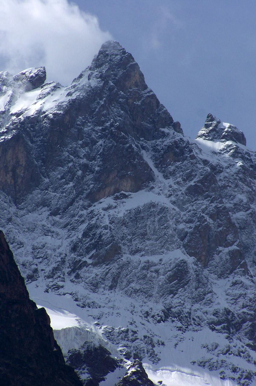 La Meije culmine à 3982 m d'altitude