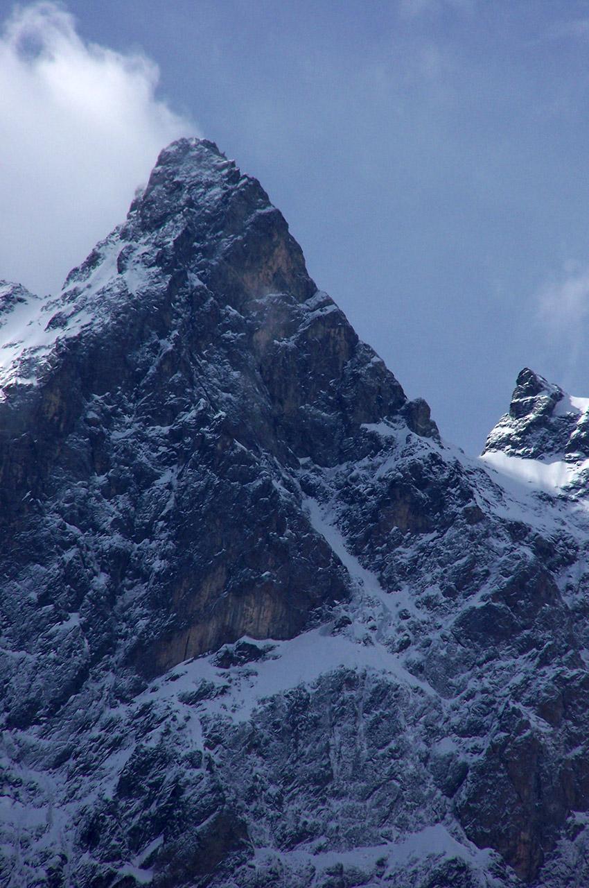 La Meije, sommet du massif des Écrins